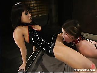 asian brunette black fucks