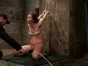 bondage, cum, tied, tight