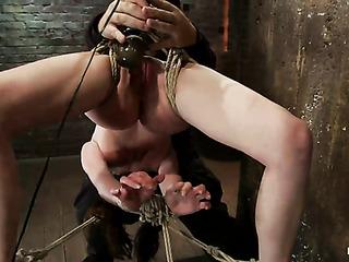 petite brunette schoolgirl bondage