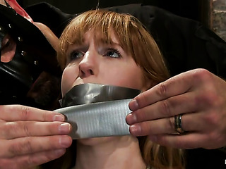 redhead babe gets duct