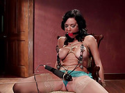 bondage, double penetration, squirting, tight