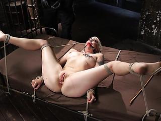gagged and bound blonde