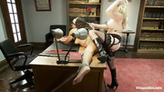 petite slut gets tied