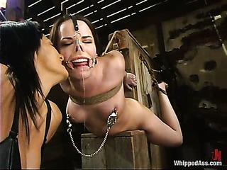 brunette cutie bondage needs