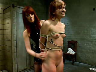 redhead mistress black whips
