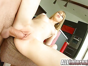 blonde, butt, hardcore, kitchen