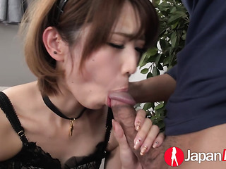 naughty japanese maid gets