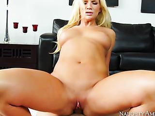 blonde wife pink underwear