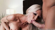 silver-haired milf gets fucked