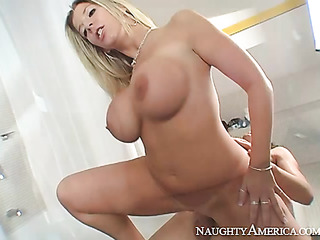 dirty blonde with huge
