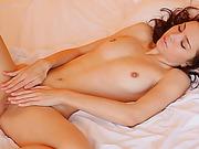 beautiful, brunette, erotica, white
