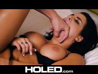 handcuffed hottie black bra