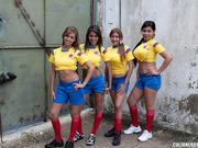 ass, latina, soccer, tits