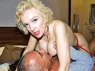 Yo blonde frankie cum shot