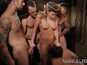 big dick, blonde, individual model
