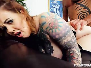 inked slut stockings has