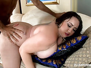 bbw, big ass, curvy, sucking