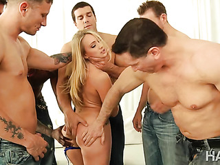 gangbang massacre one blonde