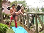 banging, fishnet, latina, undressing