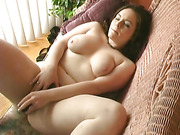 brunette, hairy pussy, hardcore, pussy