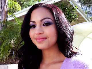 asian beauty with black