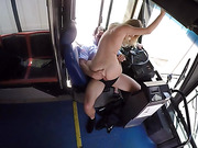 blonde, bus, hardcore, shorts