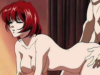 redhead japanese anime cutie