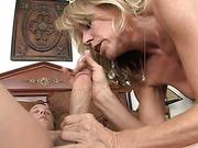 blonde, hardcore, riding, tits