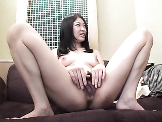 asian with hairy bush