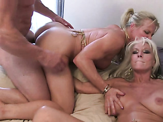two mature blonde's with