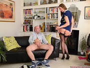 blowjobs, hardcore, old and young, stockings
