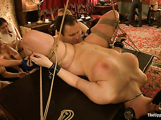 tied bimbo gets her