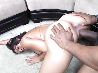 black slut sucks huge