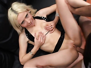 sexy ass blonde with