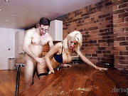blonde, hd porn, mature, table
