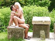 erótica, follando, pareja, porno hd