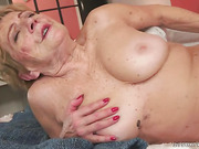 granny, pussy, rough sex, wet