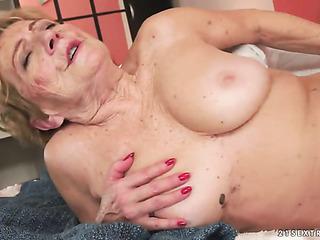 hot granny takes massive