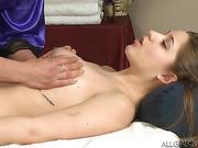 lesbian, massage, nude, pretty