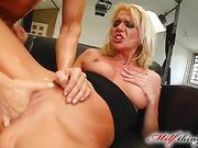 blonde, milf, slut, tits