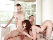 anal, bisexual, coed, group sex