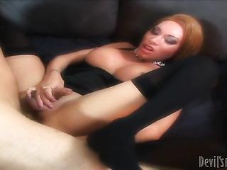 this classy tranny slut