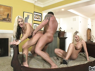 amazing threesome with two